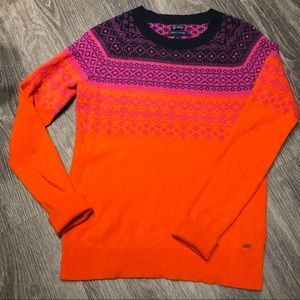 Tommy Hilfiger Cashmere Fair Isle Sweater